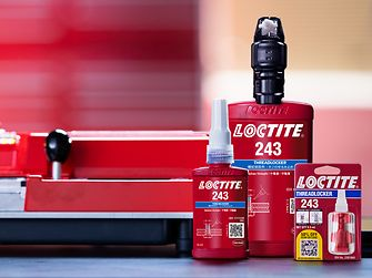 Selection of Loctite products